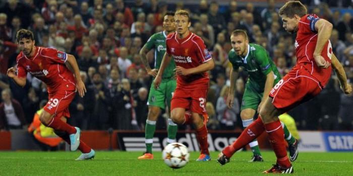 Gol Balotelli dan Gerrard Bawa Liverpool Menang di Anfield