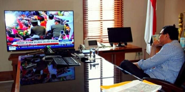 Jokowi Instruksikan Ahok Pindah Ruang Kerja di Balaikota