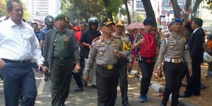 Cerita Kapolda Metro Jalan Kaki Iringi Jokowi-JK dari Semanggi ke Bundaran HI