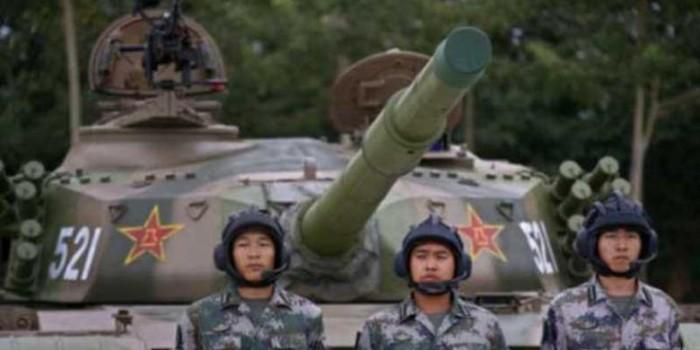 "Gara-gara ""Drone"", China Kerahkan Ribuan Tentara dan Jet Tempur"