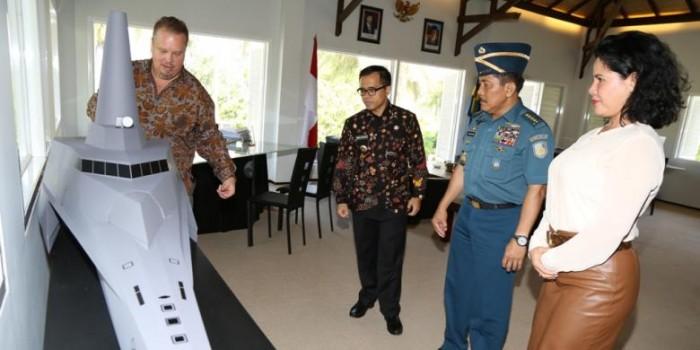 """Ini Dia Kapal """"Siluman"""" TNI AL yang Dibuat di Banyuwangi"""