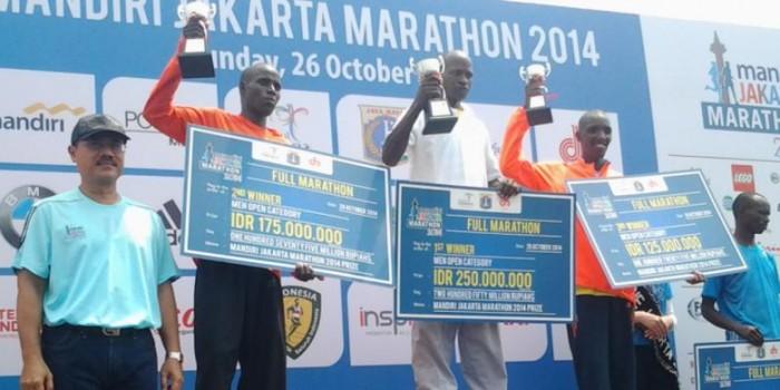 Pelari Elite Kenya Kuasai Jakarta Marathon 2014