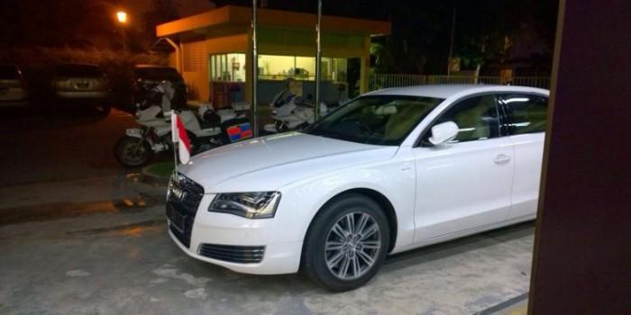 Selama di Singapura, Jokowi Disediakan Sedan Mewah Audi A8