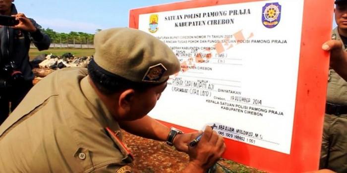 33 Hektar Megaproyek Perumahan Citraland Disegel Satpol PP