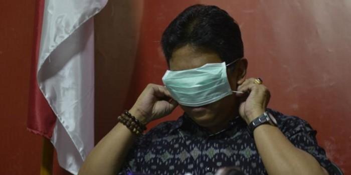 Saksi: Abraham Samad Pakai Masker, lalu Dilepas...