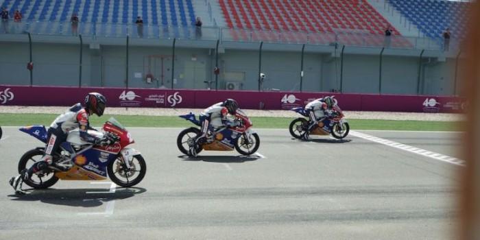 Andi Gilang Juara di Qatar