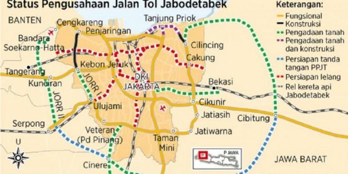 Jalan Tak Berujung untuk Meramu Satu Jabodetabek