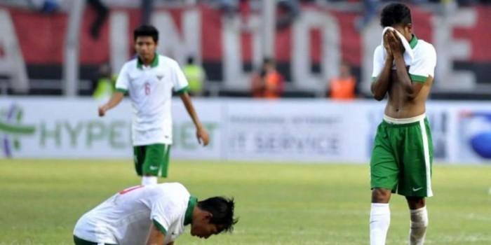 Indonesia Dipastikan Gagal Lolos ke Piala Asia U-23