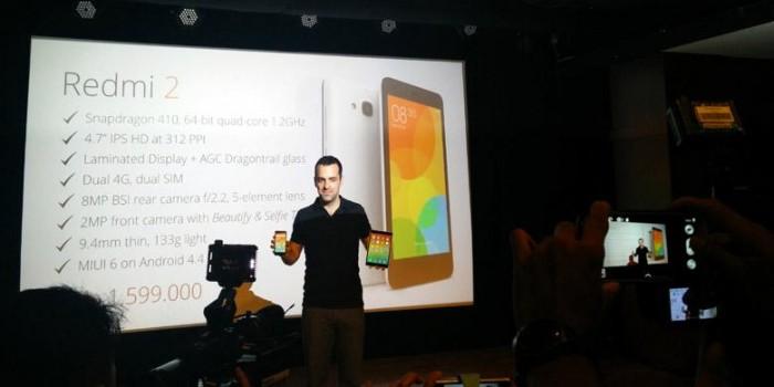 Resmi, Ini Harga Xiaomi Redmi 2 di Indonesia