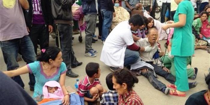 Foto-foto Dampak Gempa 7,9 SR di Nepal