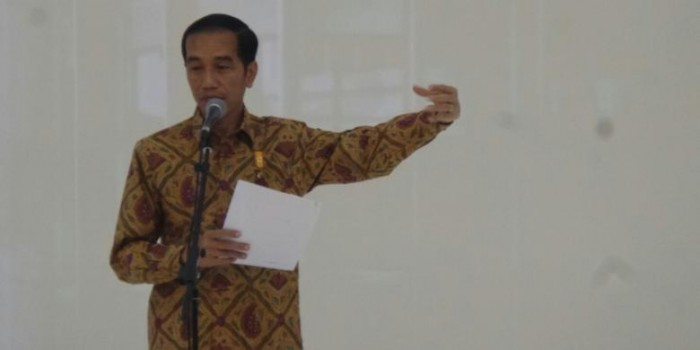 Jokowi Tak Persoalkan Indonesia Dapat Sanksi FIFA