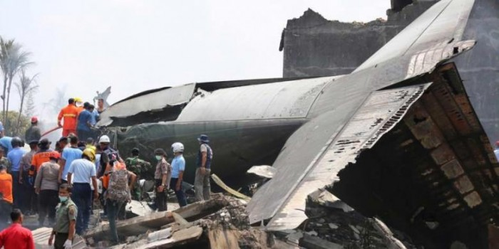 Diduga, Pesawat Hercules Jatuh karena Kerusakan Mesin