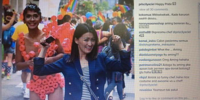 """Aming Kecewa Diberitakan Ikut Parade """"Gay Pride 2015"""""""