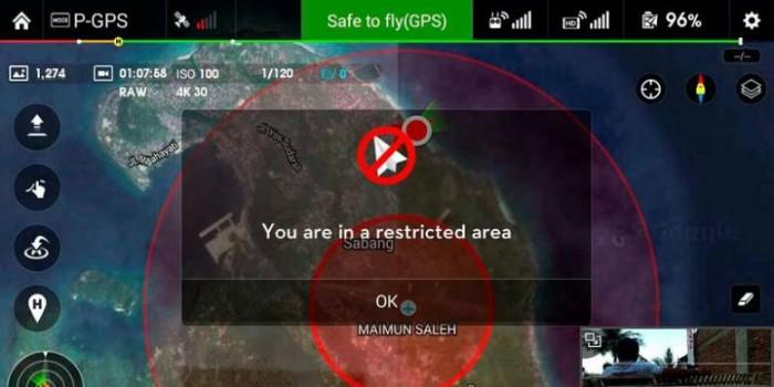 """Memotret Menggunakan """"Drone"""" di Indonesia Harus Ada Izin"""