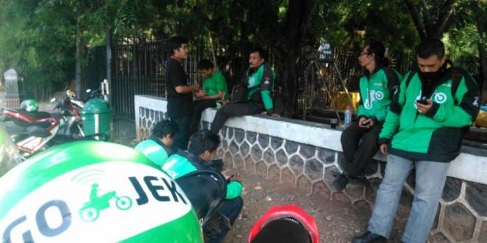 Empat Pengendara Go-Jek di Bogor Diancam Puluhan Pengojek Pangkalan