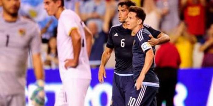 Argentina Menang Telak 7-0 atas Bolivia