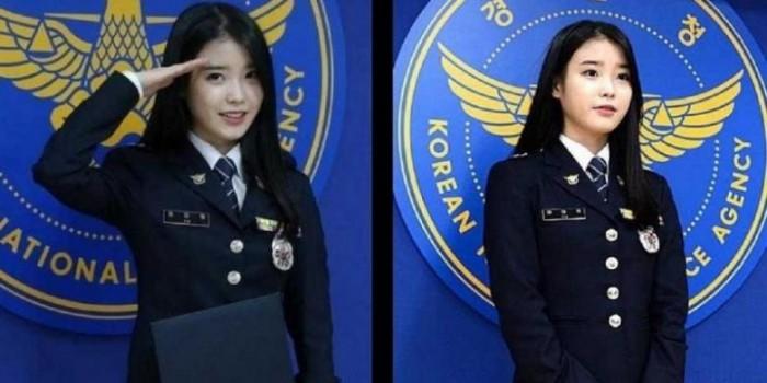 Mantan Model Dilabeli sebagai Polisi Tercantik