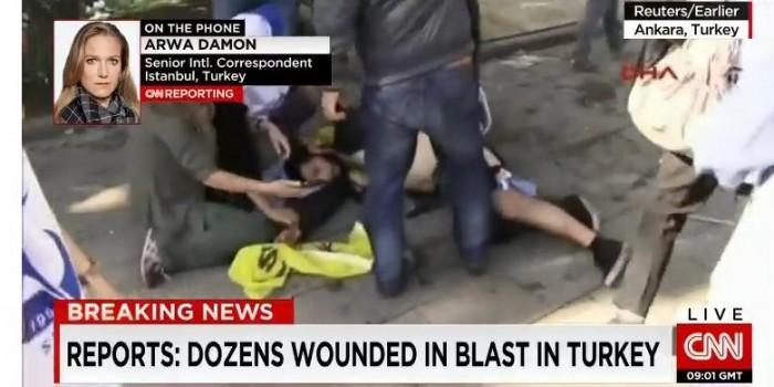Bom Meledak di Turki, 30 Orang Tewas