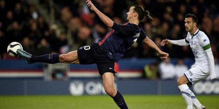 Hasil Liga Perancis, Ibrahimovic Samai Legenda PSG