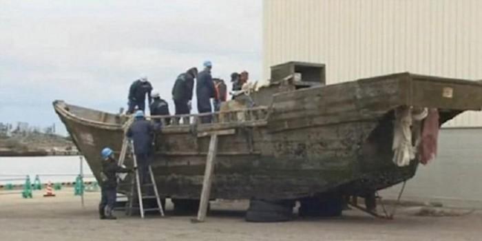 Kapal-kapal Hantu Berisi Jenazah Tiba di Pantai Jepang