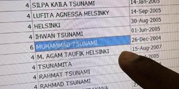 Nama Unik Terkait Sejarah, Dari Eddy Ganefo Hingga Rus Tsunami