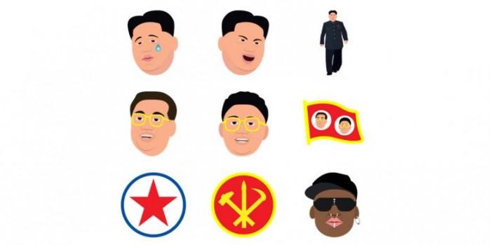Kim Jong Un Diledek Pakai Satu Set Emoticon