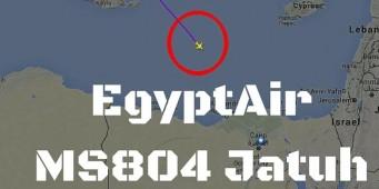 EgyptAir MS804 Jatuh