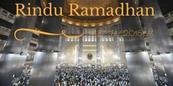 Rindu Ramadhan