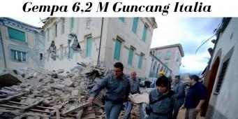 Gempa Guncang Italia