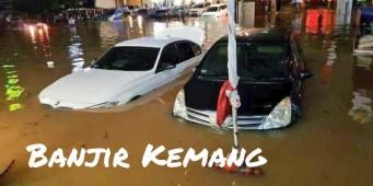 Banjir di Kemang