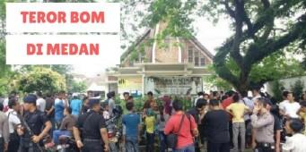 Teror di Gereja Medan