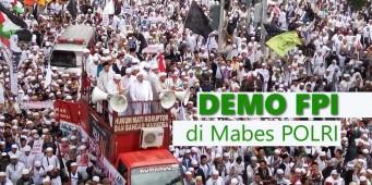 Demo FPI di Mabes Polri