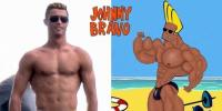 Makin Kekar, Ronaldo Terinspirasi Johnny Bravo