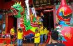 Pertunjukan Kolosal Ramaikan Perayaan Imlek di Rembang