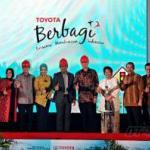 Toyota Sumbang Rp 9 Miliar untuk Pemkot Bandung