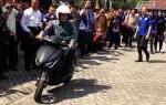 """Jokowi Diminta Lepas """"Touring"""" Gesits ke Jawa-Bali"""