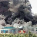 Pabrik Suzuki India Terbakar