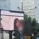 "Netizen Dihebohkan oleh Tayangan Video Porno di ""Videotron"" Jakarta Selatan"