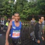Trek Berlubang dan Genangan Air Warnai Jakarta Marathon 2016