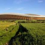 Setiap Bagian Stadion Sepak Bola Ini Terbuat dari Kayu