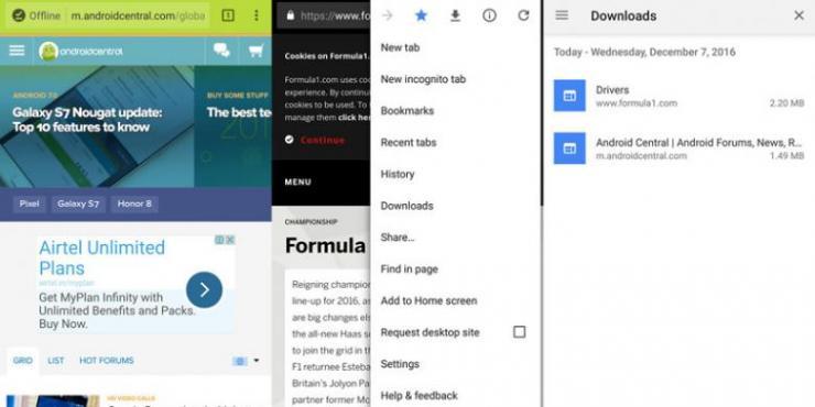 Chrome di Android Bakal Bisa Simpan dan Putar Video Tanpa Internet