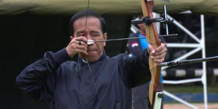 Jokowi Berniat Jadi Atlet PON 2022