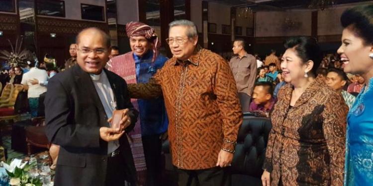 Pendeta Doakan SBY agar Terus Jaga Bhinneka Tunggal Ika